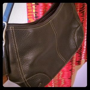 Liz Claiborne Wilson's Leather Black Purse
